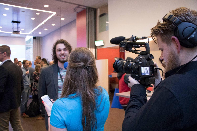 Danny Moons bij online marketing event imu.nl